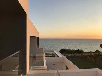 Photo for Luxury villa, 225 m2, with sea views, in exclusive urbanization