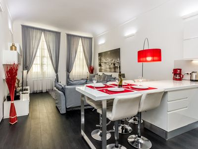 Photo for Elegant House Via Pia - Apartment in the heart of the historic center -