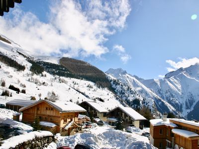 Photo for Modern Apartment, Les 2 Alpes, Panoramic Views Ski-in/out. 200m Chair Lift