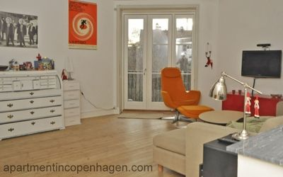 City Apartment in Frederiksberg with 3 bedrooms sleeps 4