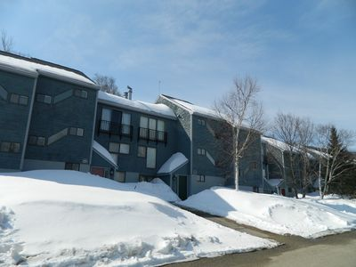 Highest condos on the mountain! Be the first on the trail!