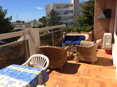 Photo for Air-conditioned studio for 4 people 50 m from the beach - Les Salins d'Hyères