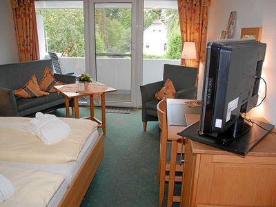 Photo for Double room, shower, toilet, land side. - Private hotels Dr. med. Lohbeck GmbH & Co. KG Seehotel