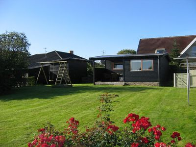 Photo for Holiday cottage with fjord view, open & roofed terrace. Near Nykøbing city.