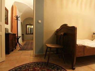 Historic Ground Floor Apartment for 2 in Medieval Centre of Prague