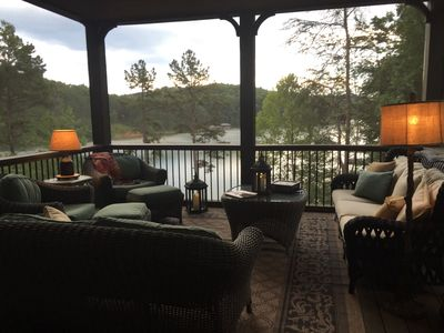 Photo for Lakefront Home on Lake Keowee in Gated Community, 20 Minutes to Clemson