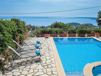 Photo for 3 bedroom Villa, sleeps 6 in Lássi with Pool, Air Con and WiFi