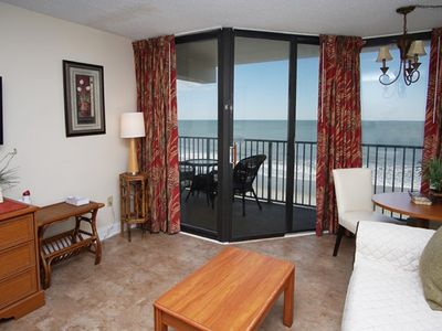 Sand Dunes Main Tower 2625, Lovely 1 BR End Unit With Spectacular Oceanfront Views, Indoor Outdoor Pool, Lazy River and Kiddie P