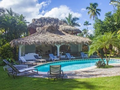 Photo for Character villa combines Caribbean style and vintage with its own pool