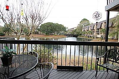View of Lagoon from back deck
