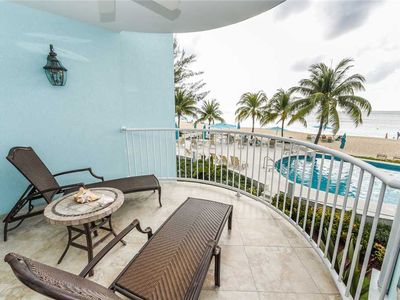 Photo for Oceanfront unit on Seven Mile Beach | Beachfront Condo #12