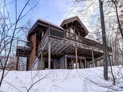Photo for Chalet Sioux 7 bedroom 16 people Mont Tremblant Region