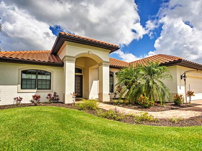 Photo for Alluring 3BR Cape Coral House w/ Lanai & Dock!