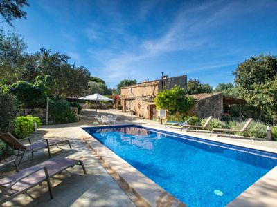 Photo for Beautiful private villa for 5 people with A/C, WIFI, private pool, TV and parking