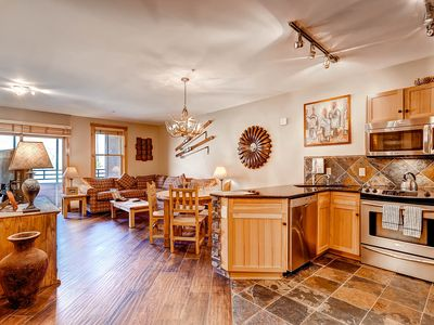 Photo for Premier 2Br Condo/Walk to Slopes + Outdoor Heated Pool