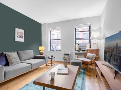 Photo for Immaculate Central West Village 1BR, Gym, Doorman by Blueground