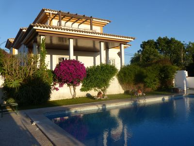 Photo for A beautifully furnished villa close to the beach, Lisbon and a number of fabulous golf courses