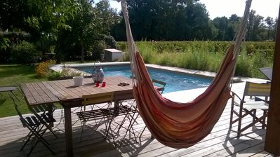 Photo for Large house with pool in the vineyards of Pessac Léognan near Bordeaux