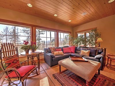 Photo for Spacious Private Apt by Lake Whitefish & Mountains