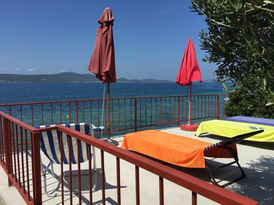 Photo for One bedroom apartment near beach Sveti Petar, Biograd (A-849-b)