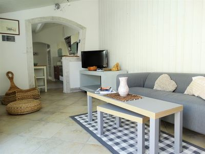 Photo for 350 m from the center of Saint Gilles, holiday home & its small courtyard