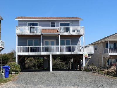 Photo for A Beach Heaven is a 4 Bdrm/2 Bath 2nd Row Home with Beautiful, Wide Open Views of the Ocean