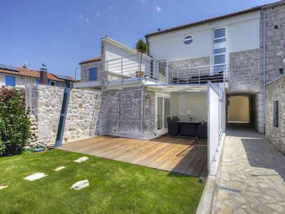 Photo for Villa Sailor's Delight - Waterfront Villa With Spectacular View Of Adriatic Sea