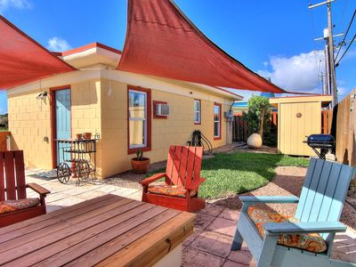 Photo for La Mansion At Spanish Village! Adorable Cottage In The Heart Of Port Aransas!