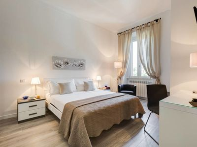 Photo for Lovely renovated 2 bed flat close to the Vatican