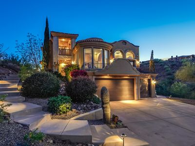 Photo for 4 Bed + 4 Bath 4,109 SF Hillside Home w/ Private Pool and Gym in Fountain Hills
