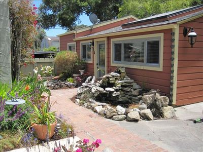 Photo for $195/nt Quiet Cottage - Stroll to Beach & Town!
