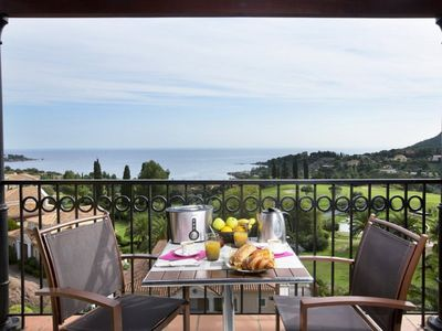 Photo for Apartment 4/5 pers sea view near Saint Raphaël in holiday village