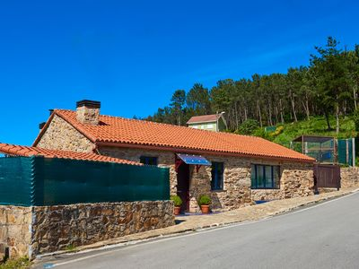 Photo for Stone house with fireplace in front of Costa da Morte (Galicia)