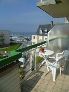 Photo for Apt 60 m2 near seawall beach balcony south facing sea view Wifi Access for disabled