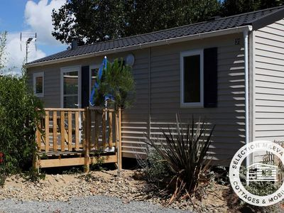 Photo for Camping Saint Michel *** - Maeva Camping - Mobile Home 4 Rooms 6/8 People