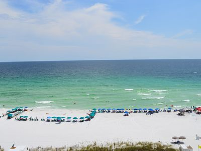 Photo for Destin Towers 9th Flr🌴🌴Remodeled Beachfront🌞🌞Awesome Gulf View⛵⛵Curved TV!!!
