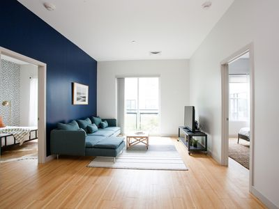 Photo for Sonder | Seaport District | Bold 2BR + Laundry