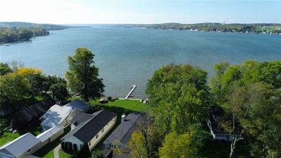 Photo for Relaxing 2 Kitchen Conesus Lake Home, Game Room & Wellness Center