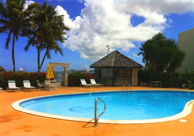 Relax by the sea in our freshwater pool