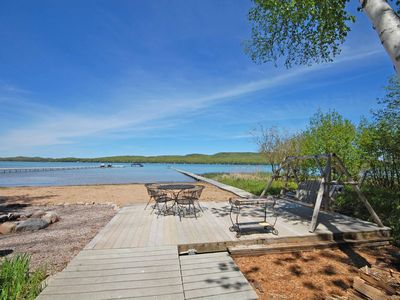 Photo for Large, Beautiful Private Home on the South Shore of Little Glen Lake; Acc 16
