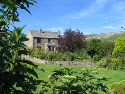 Photo for Ashcroft Cottage Reeth, set in two acres garden, river, ponds, amazing views