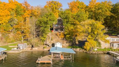 "Photo for English Lakehouse:""Spectacular views on the Seneca Lake Wine Trail"""