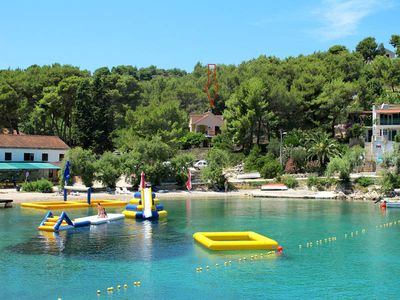 Photo for Apartment Babic  in Rogac - Insel Solta, Dalmatia - 5 persons, 2 bedrooms