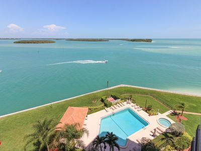 Photo for Classy condo w/ shared pool & hot tub, panoramic ocean views from private lanai!