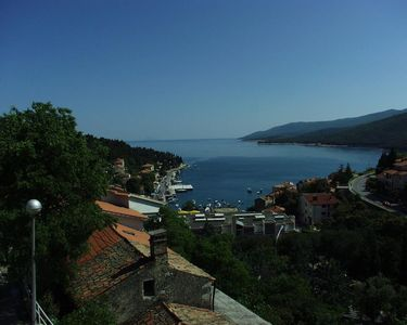Photo for One bedroom apartment with terrace and sea view Rabac, Labin (A-2323-b)