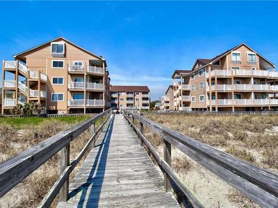 Photo for Sand Pebbles C14: A 2nd Floor Oceanfront Condo with 2 Community Pools and Walkways to the Beach.