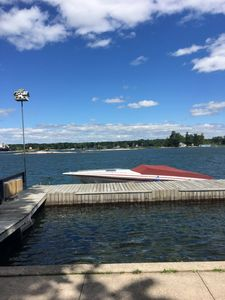 Private dock with space for your favortite water toy!