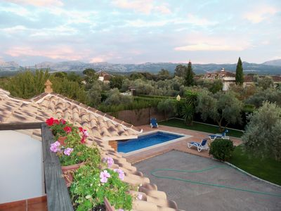 Photo for Best luxury villa in Ronda. Wonderful mountain views