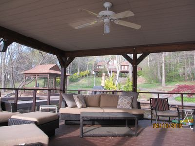 Photo for Day Dream Retreat-spcl 2nt min rental in Aug-Waterfront, Firepit, kayaks, wifi