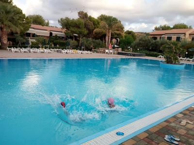 Photo for House in the center of Campofelice di Roccella with Parking, Internet, Air conditioning, Pool (906790)